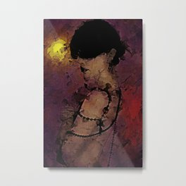 The Attrition of Nothing Metal Print