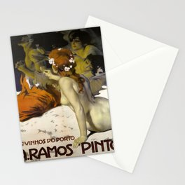 Vintage poster - Aramos Pinto Stationery Cards