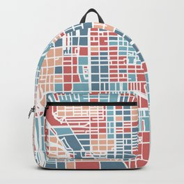 Chicago map Backpack