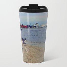 Husky Run Travel Mug