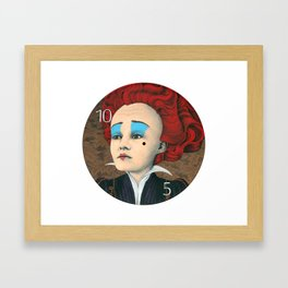 janis the red queen Framed Art Print
