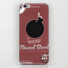 (un)Original Round Bomb iPhone & iPod Skin