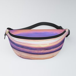 Sunset Moods at the Beach by Reay of Light Photography Fanny Pack