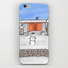 GIAB winterscape iPhone Skin