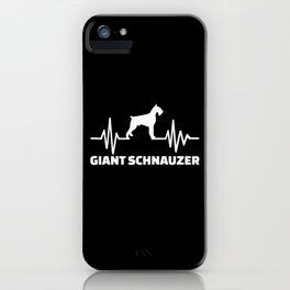 Giant Schnauzer frequency iPhone Case
