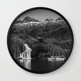 Cascade Bay Alaska Wall Clock