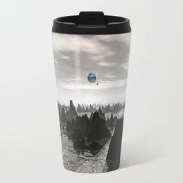 Mysterious Blue Orbs Travel Mug