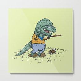 Geriatricasaur Metal Print