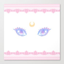 Sailor Moon Eyes Canvas Print