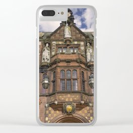 Coventry Town Hall Clear iPhone Case