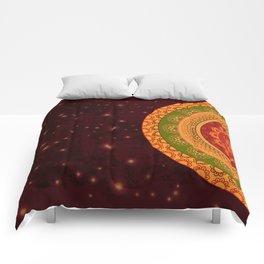 Indian Mandala Comforters