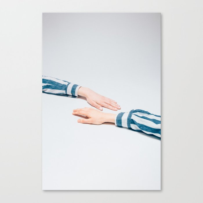 Striped Shirts Canvas Print