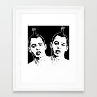 ferris bueller Framed Art Prints featuring Bueller, Bueller (Ferris Bueller) by ACHE