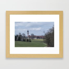 View on Peter and Paul church Laupheim-Germany Framed Art Print