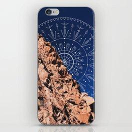 Mandala in the Desert iPhone Skin
