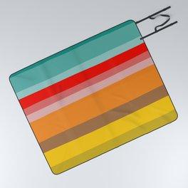 Color Stripes Picnic Blanket
