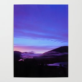 Valley Sunset Poster