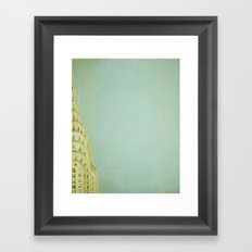 Top of the City - NYC Framed Art Print