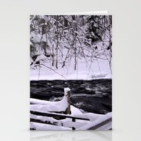 finland Stationery Cards featuring Winter in Finland by Guna Andersone & Mario Raats - G&M Studi