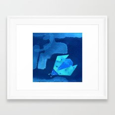 Ladybird Origami 1 Framed Art Print