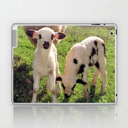 Ewe and Twin Spring Lambs Laptop & iPad Skin