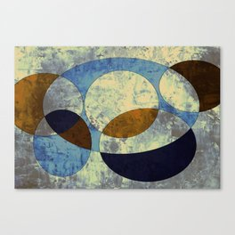 Cool Planets Canvas Print