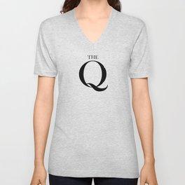 THE Q Unisex V-Neck