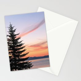 Tahoe Sunset Stationery Cards