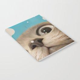 """Fun Kitty and Polka dots"" Notebook"