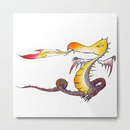 Chris' Dragon Metal Print