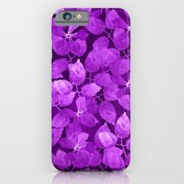 watercolor Botanical garden IV iPhone Case