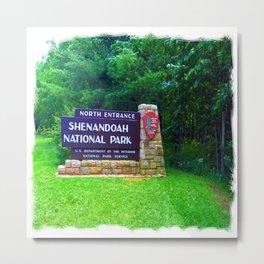 Shenandoah National Park Metal Print