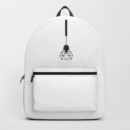 Modern Lamp (Color) Backpack
