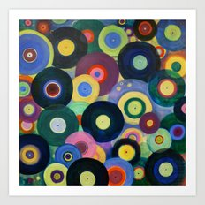 Record High Art Print
