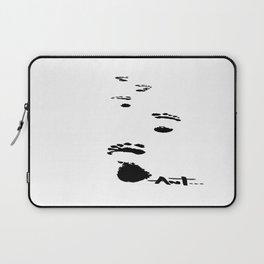 footprints foot prints Laptop Sleeve