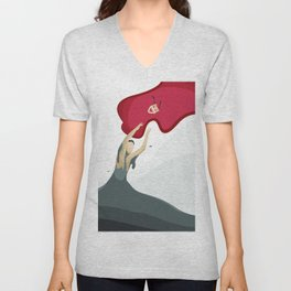Quest for Felicity Unisex V-Neck