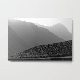 Three Ridges  Metal Print