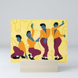 Voguing Mini Art Print