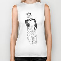 niall horan Biker Tanks featuring niall by otp-hedgefrog