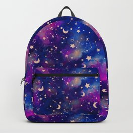 Zodiac - Watercolor Dark Backpack