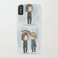 stucky iPhone & iPod Cases featuring Rain  by BlacksSideshow