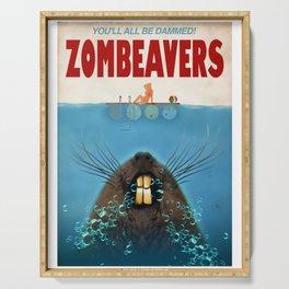 Zombeavers Serving Tray