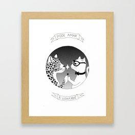 Amor Livre Framed Art Print