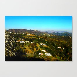 Hollywood Hills, California Canvas Print
