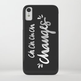 Bowie – White Ink iPhone Case