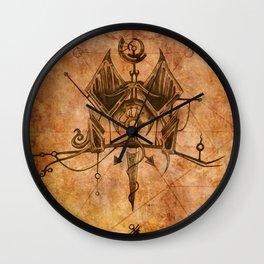 Zodiac:  Leo Wall Clock