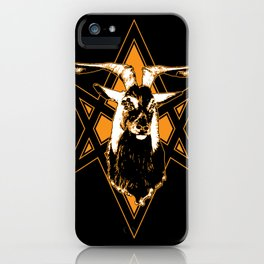 Goat of Mendes iPhone Case