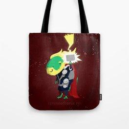 Tyrannothorus Rex - Tyrant King of Thunder Tote Bag