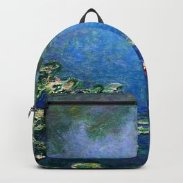 Monet Waterlilies Backpack