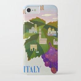 affisso ENIT Autumn in Italy iPhone Case